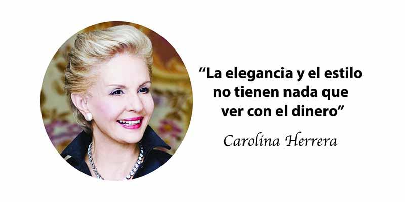 15 Frases Inspiradoras De La Talentosa Carolina Herrera Que